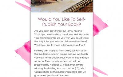 New Course: Would You Like To Self-Publish Your Book?